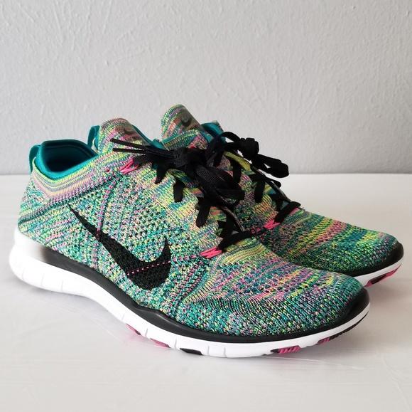 Nike Free Flyknit Multicolor Womens